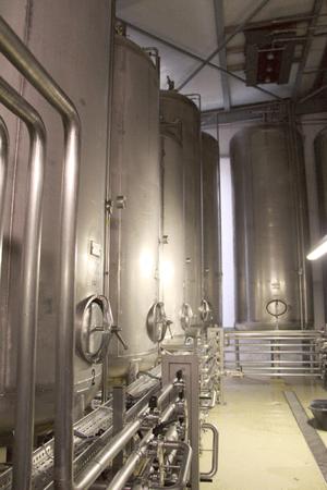 Bier Lagertanks  und Gärung