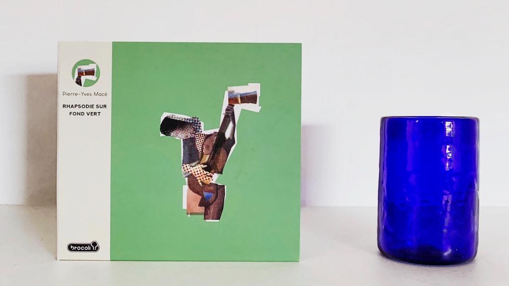 Pierre yves mace rhapsodie sur fond vert new album