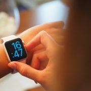 Wearable device on wrist