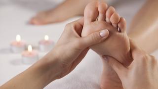 Foot massage reflexology