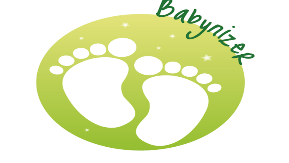 Babynizer logo london organizer baby shower