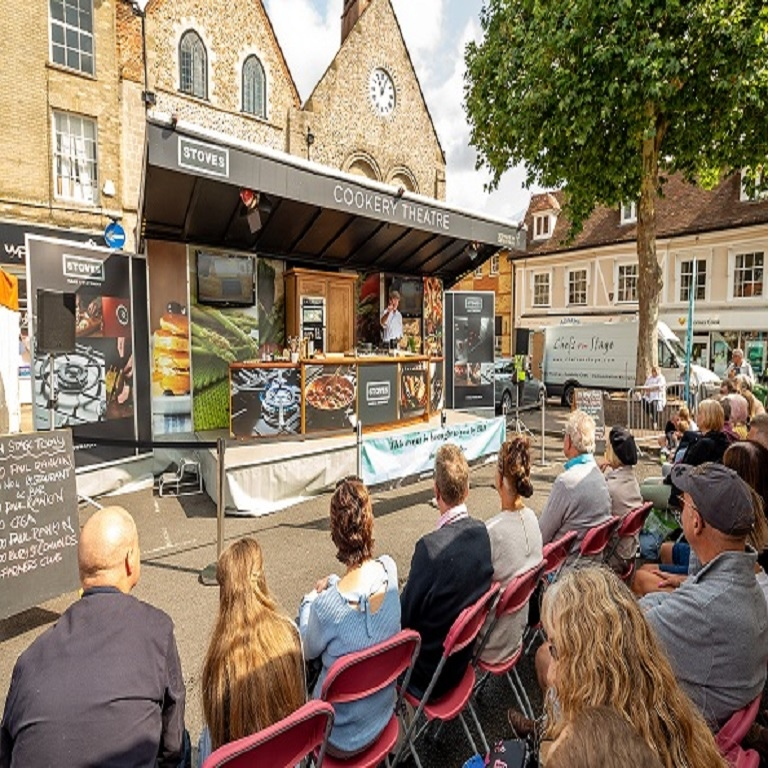 Enjoy a weekend of gastronomic delights at the 2019 Our Bury St Edmunds Food & Drink Festival!