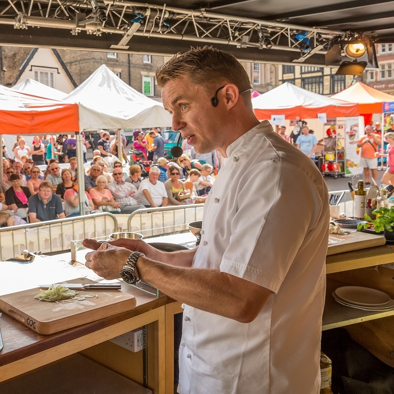 Enjoy a weekend of gastronomic delights at the 2018 Bury St Edmunds Food & Drink Festival!