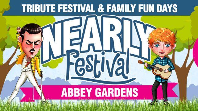 The Nearly Festival is back with two-days of top tribute acts at the Abbey Gardens in Bury St Edmunds.