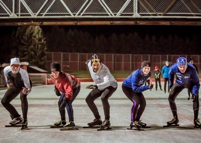 Skøyting på Valle Hovin
