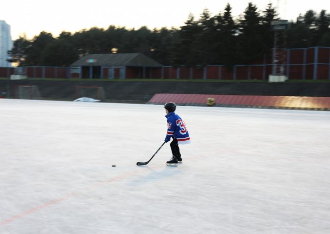 Ishockey på Valle Hovin