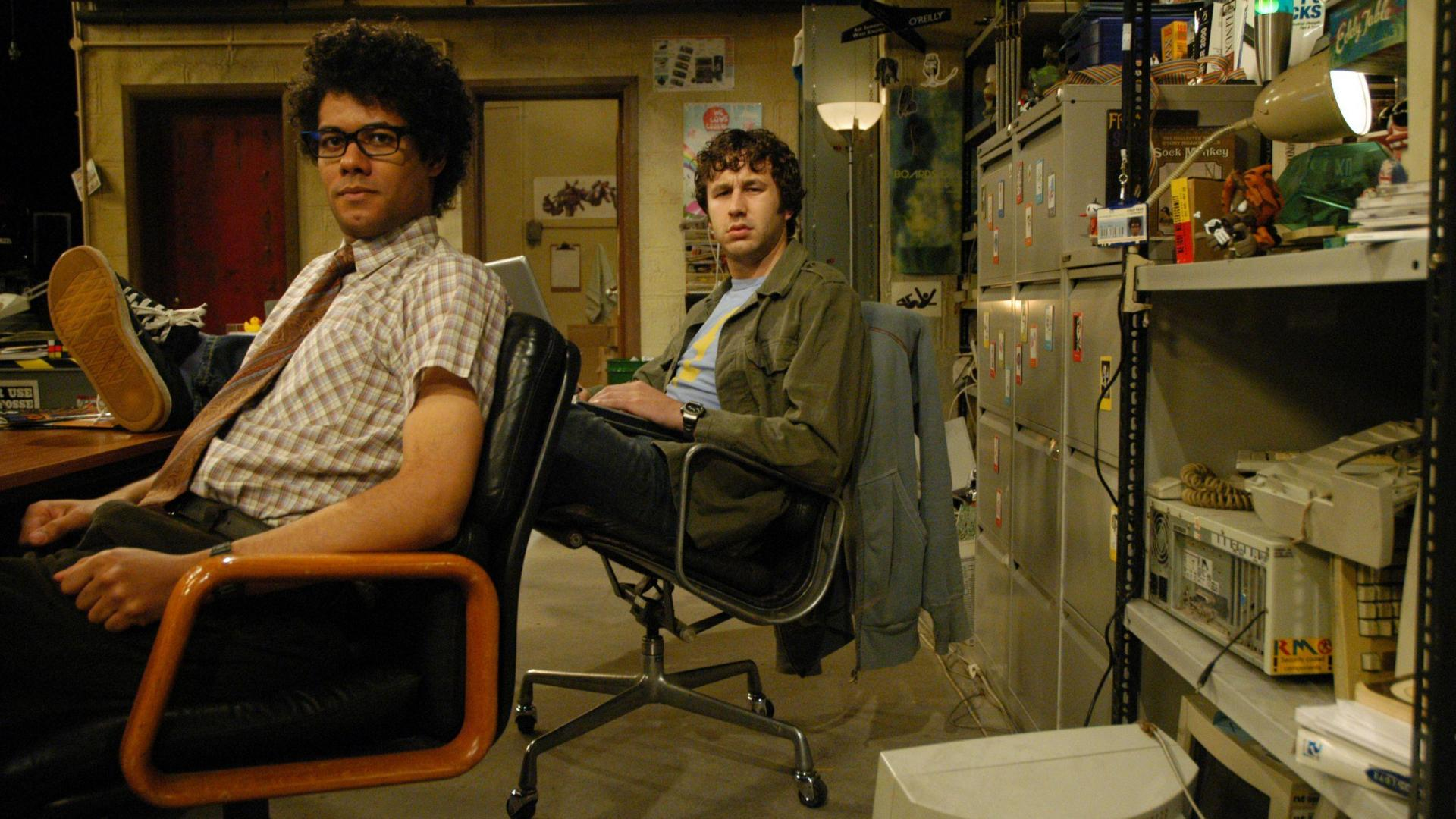 Still from The IT Crowd