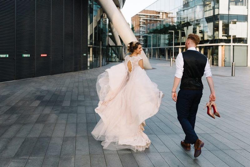 Urban wedding photography London