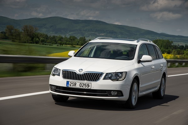 Skoda Superb Estate TDI review