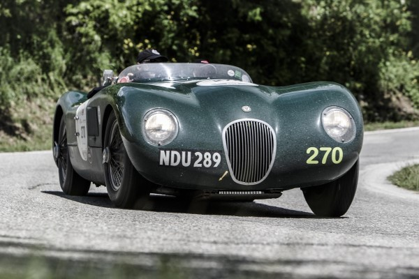 Jaguar Mille Miglia video