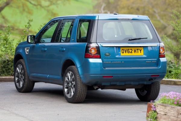 Land Rover Freelander rear angle