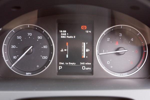 Land Rover Freelander dials