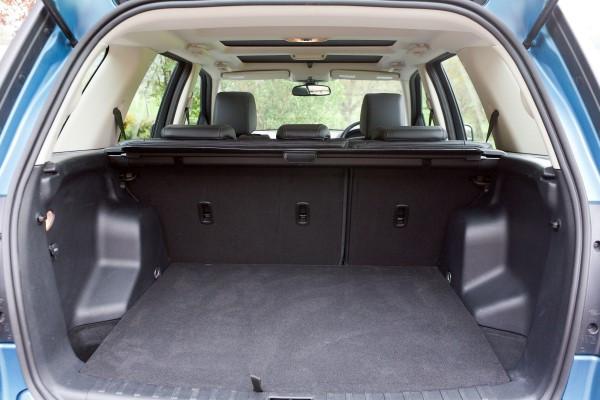 Land Rover Freelander boot