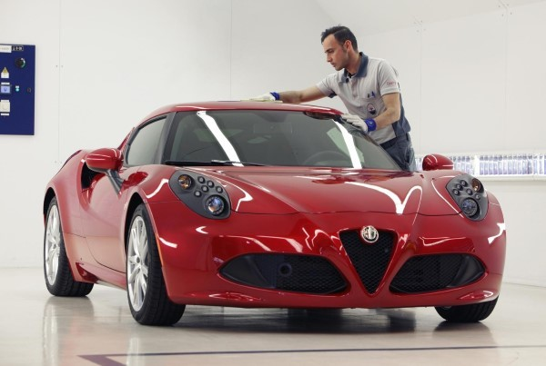 Alfa Romeo 4C video