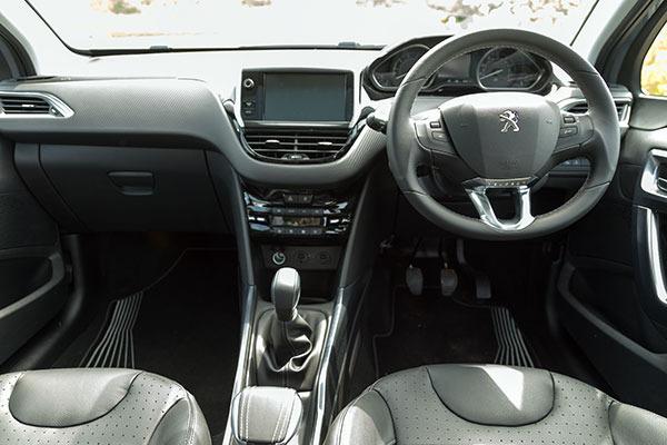 Peugeot 2008 Interior Dash