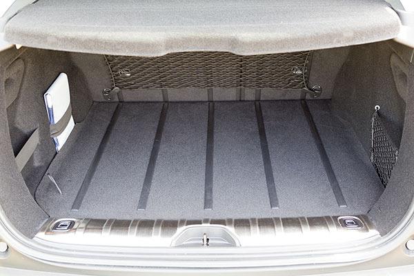 Peugeot 2008 Interior Boot