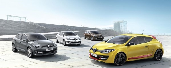 2014 Renault Megane range pricing