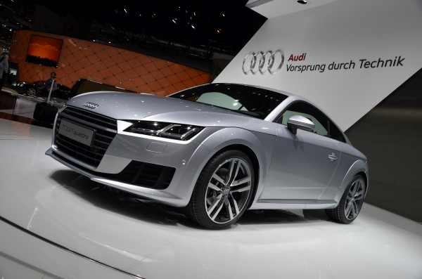 New Audi TT photo gallery