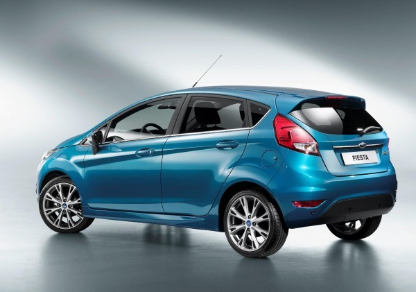 Ford Fiesta rear angle