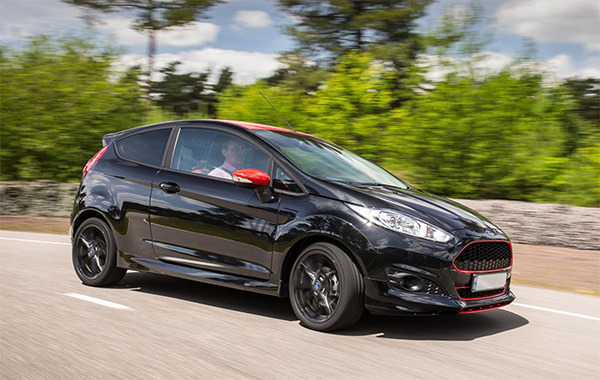 Ford Fiesta Red and Black editions driven  an ST alternative
