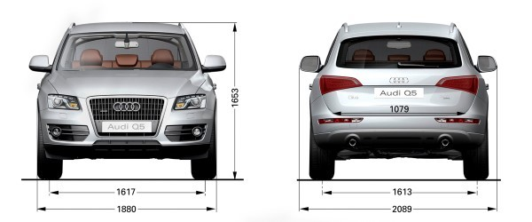 Audi Q5 dimensions – UK exterior and interior sizes | carwow