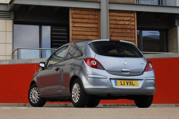 Vauxhall Corsa turning