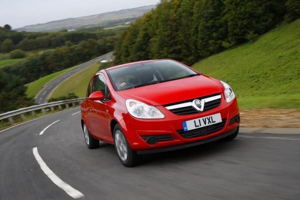Vauxhall Corsa driving