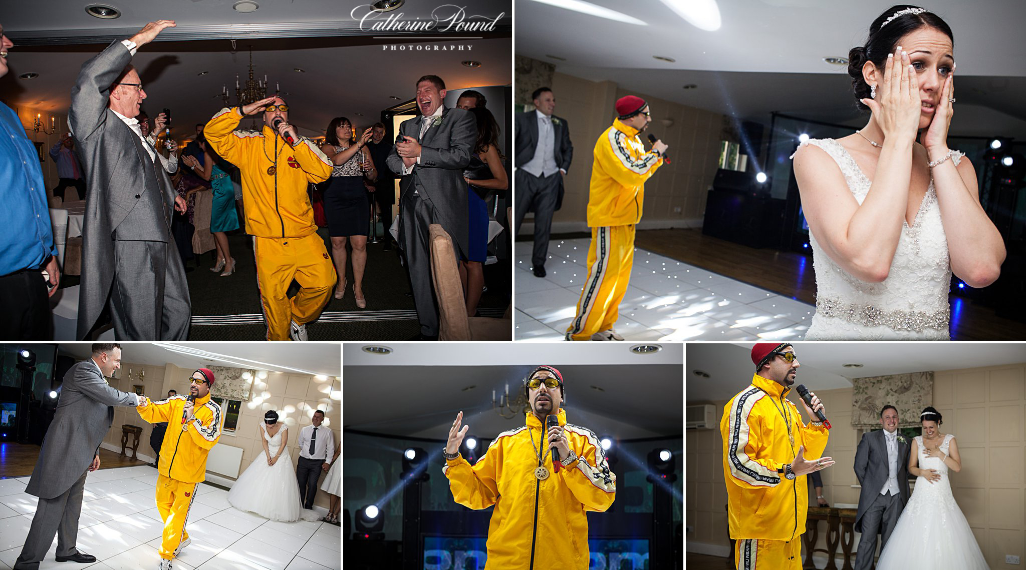 Ali G at wedding