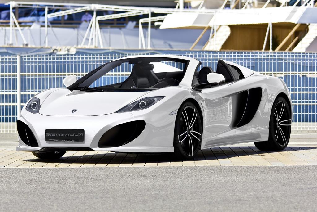 Gemballa GT Spider su base McLaren