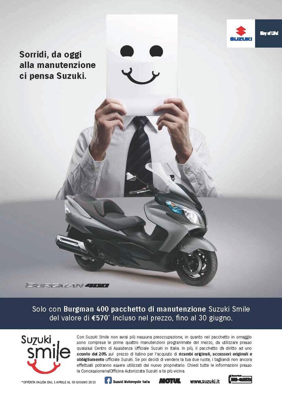 Suzuki Burgman 400 Regala Suzuki Smile