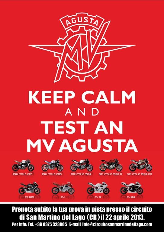 MV Agusta Demo Ride 2013