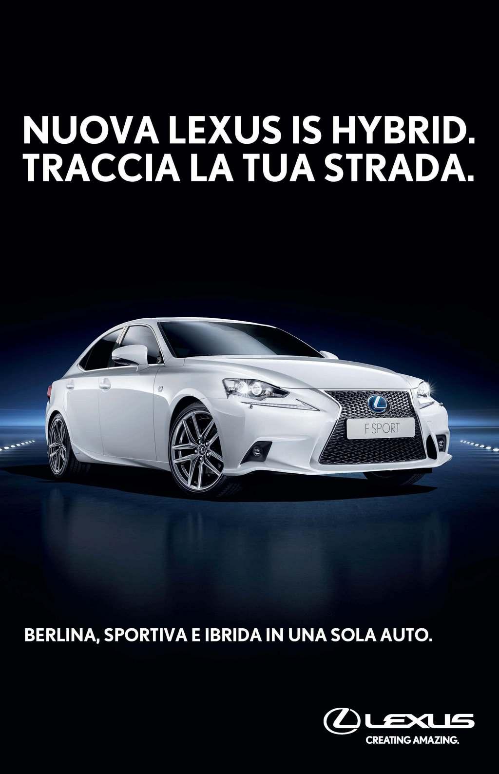 Lexus IS Hybrid Anteprima Italiana