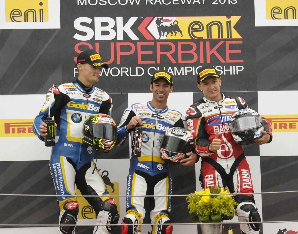 Superbike 2013 Mosca Podio