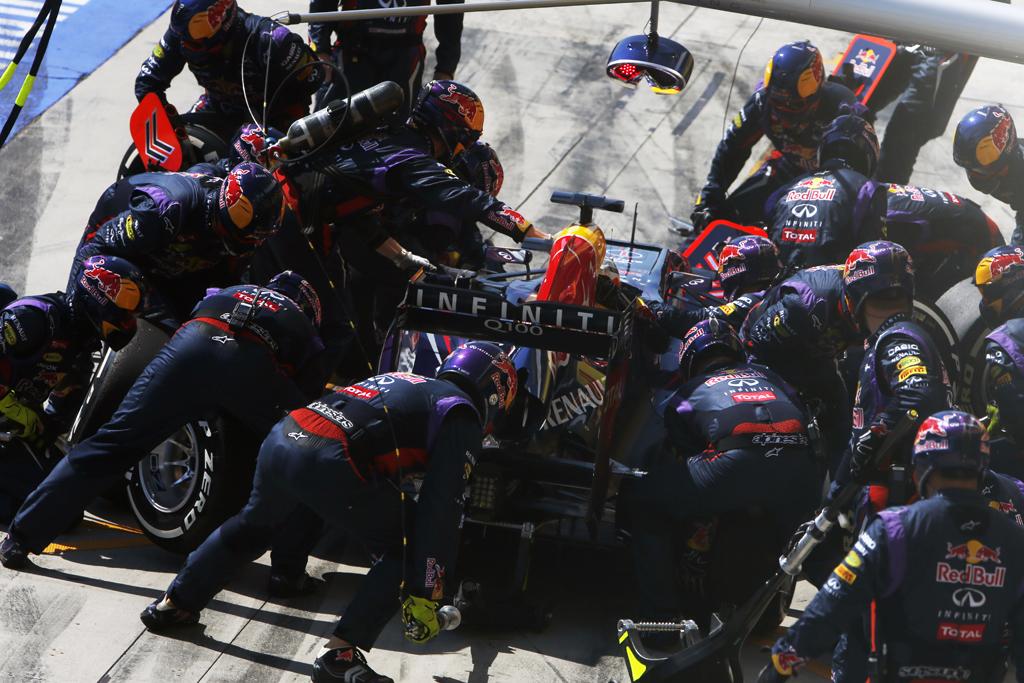 Red Bull Racing Pit Stop GP Ungheria
