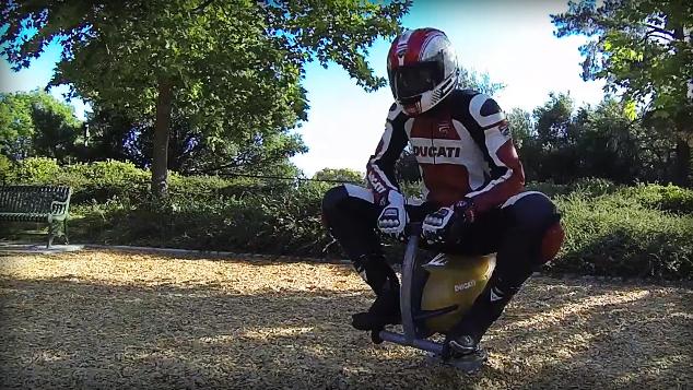 Ducati Air Bike Challege