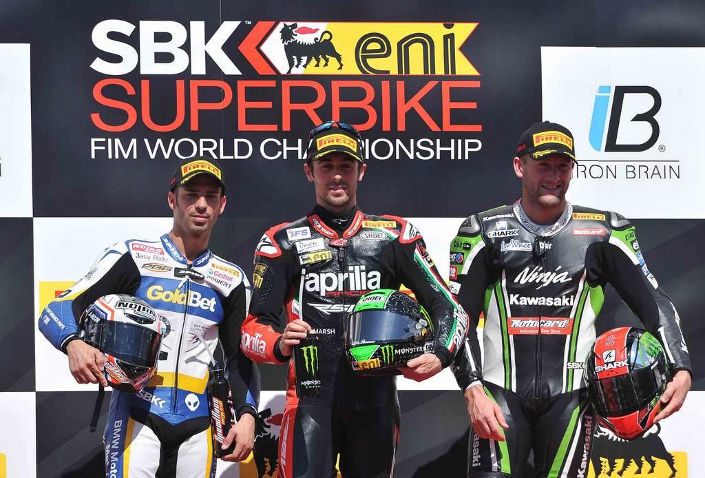 Superbike 2013 Istanbul Podio Gara 1
