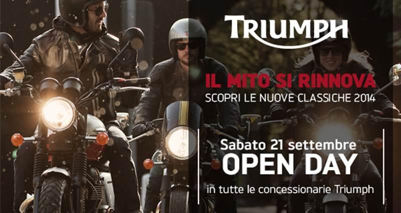 Open Day Triumph Classics