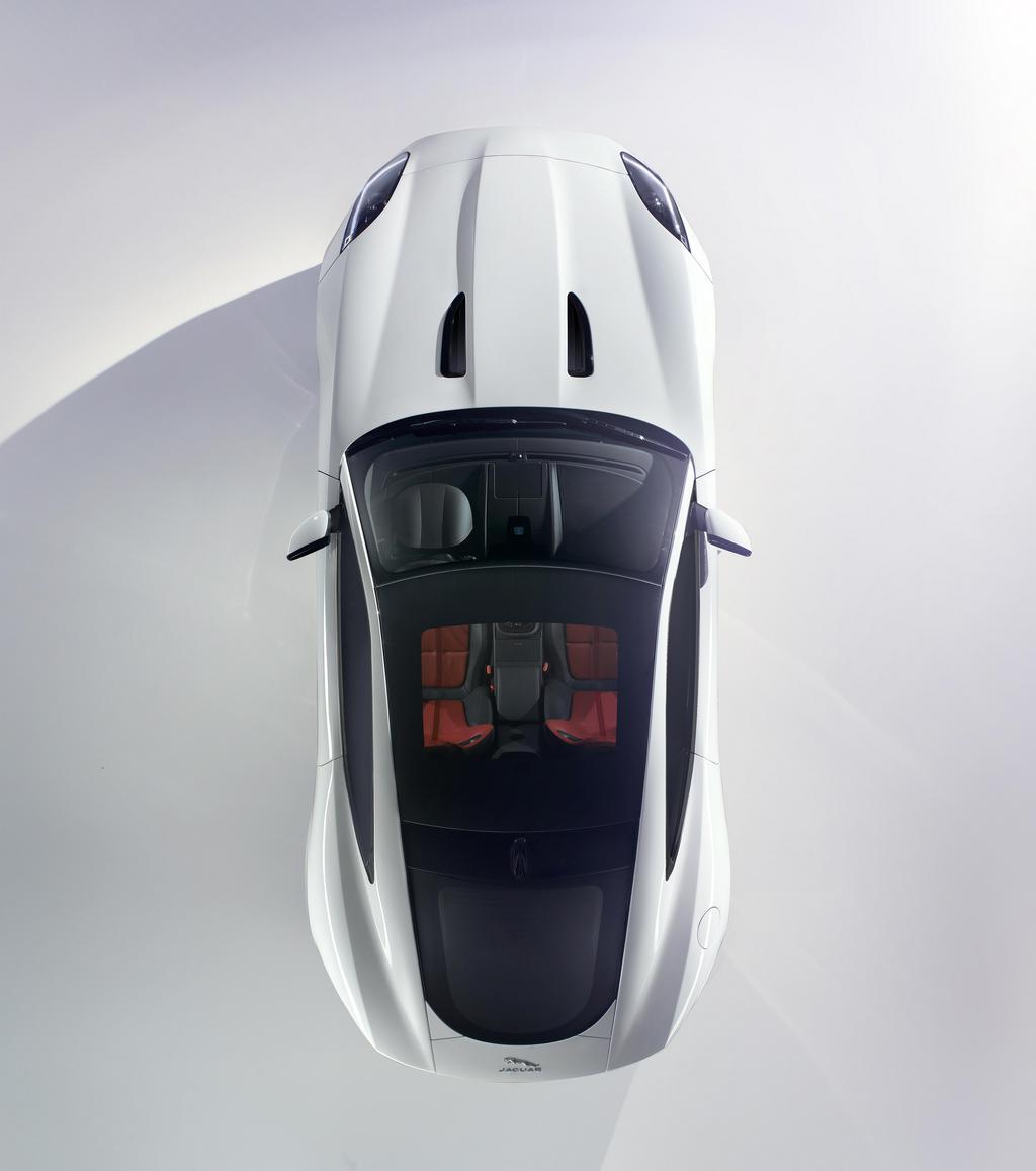 Jaguar F-Type Coupé Teaser