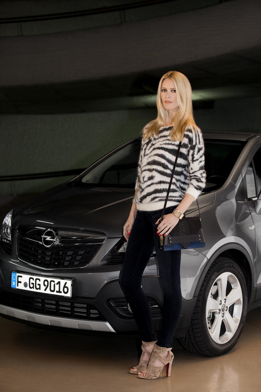 Opel Mokka Claudia Schiffer