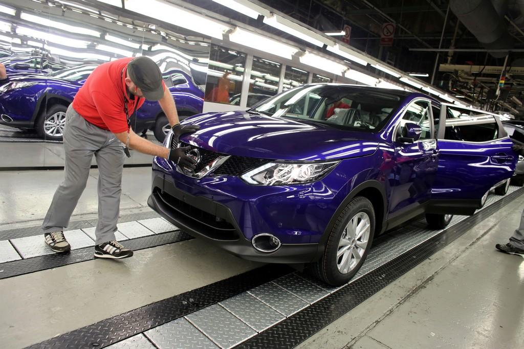 Nissan Qashai Nuova Avvia la produzione