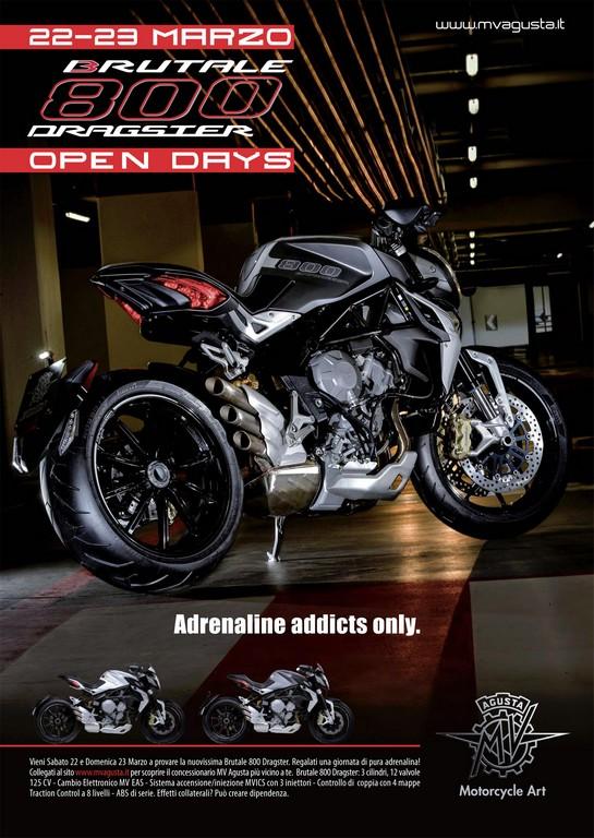 MV Agusta Dragster 800 Open Day