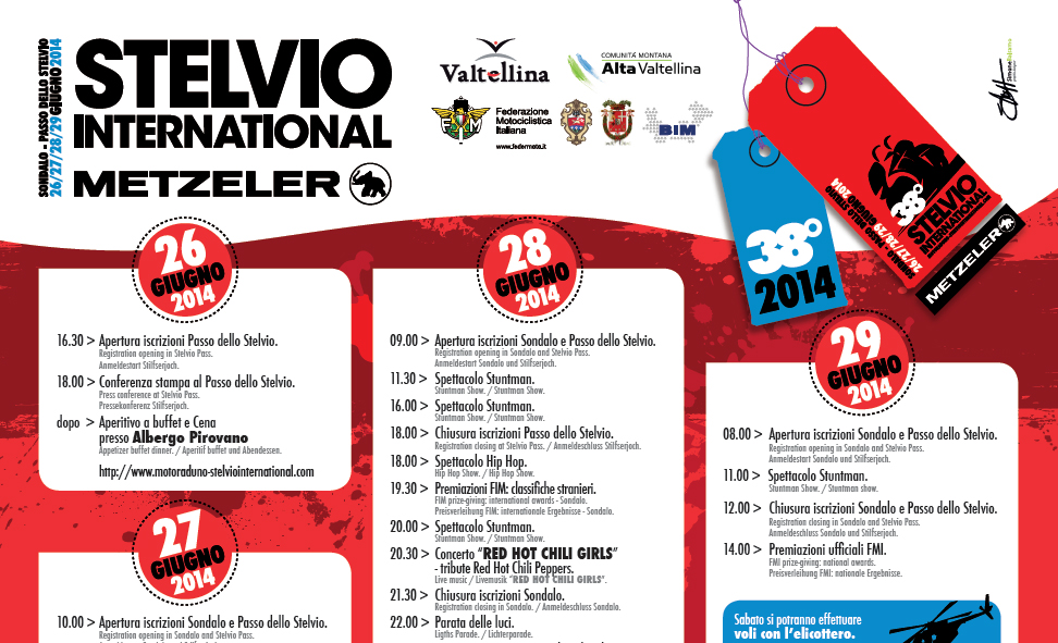 Motoraduno Stelvio International 2014