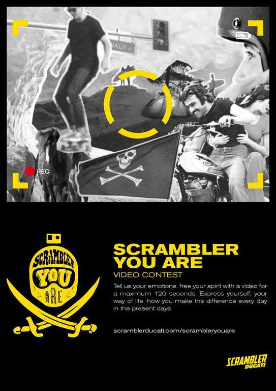 Locandina Scrambler Video Contest