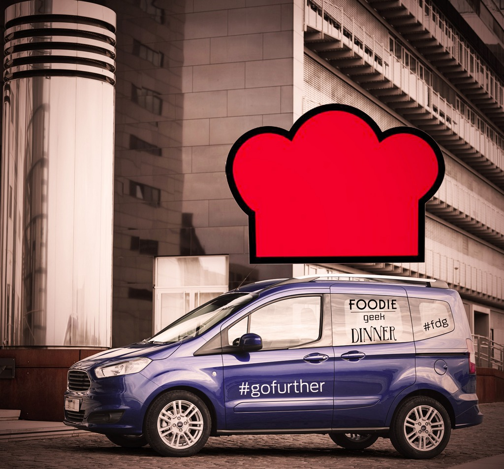Ford Tourneo Courier Foodie Geek Dinner