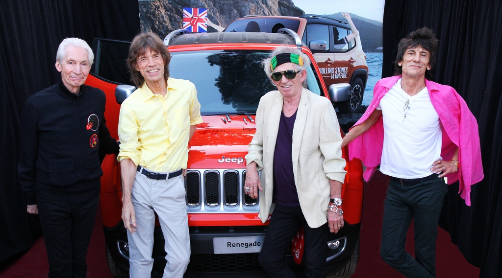 Jeep Renegade Rolling Stones Charity