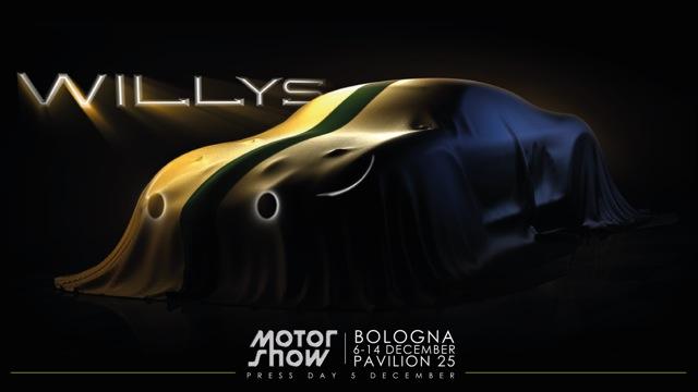 Teaser Willys Fast Design