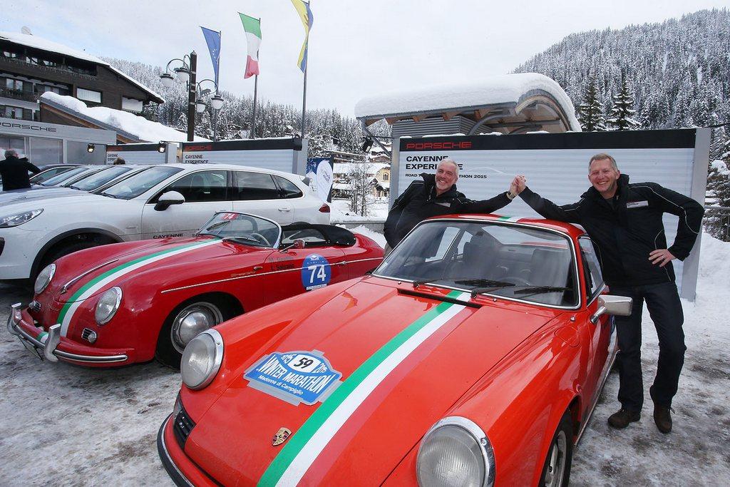 Porsche Winter Marathon