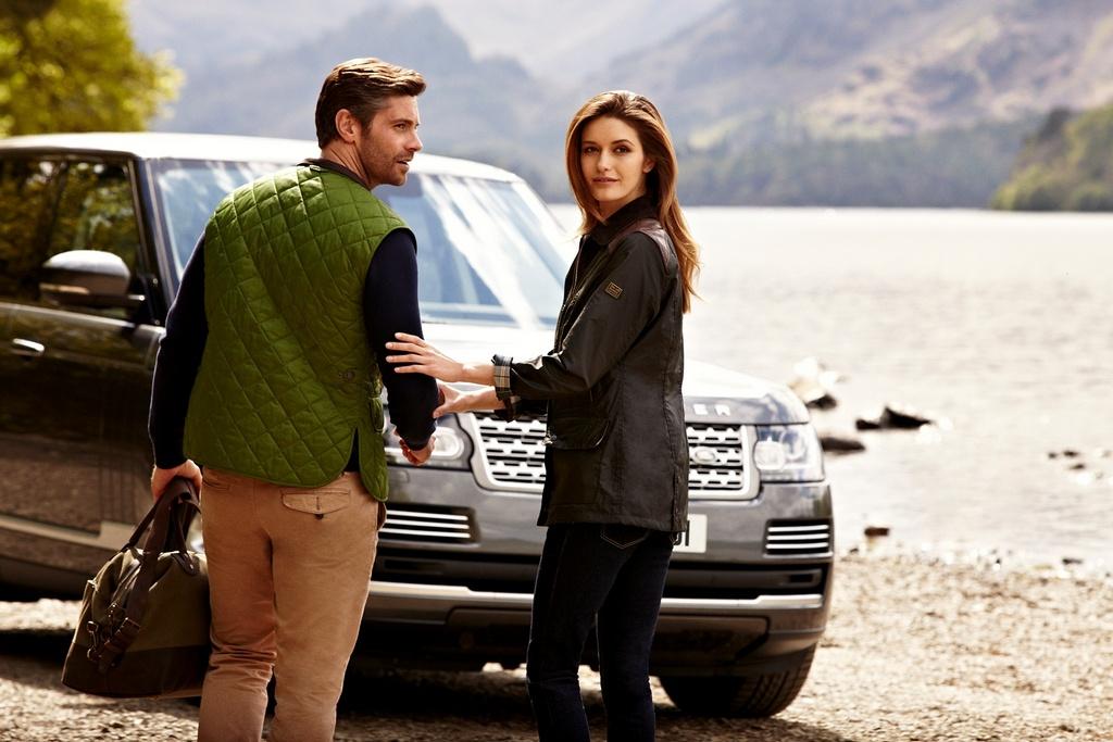 Land Rover e Barbour