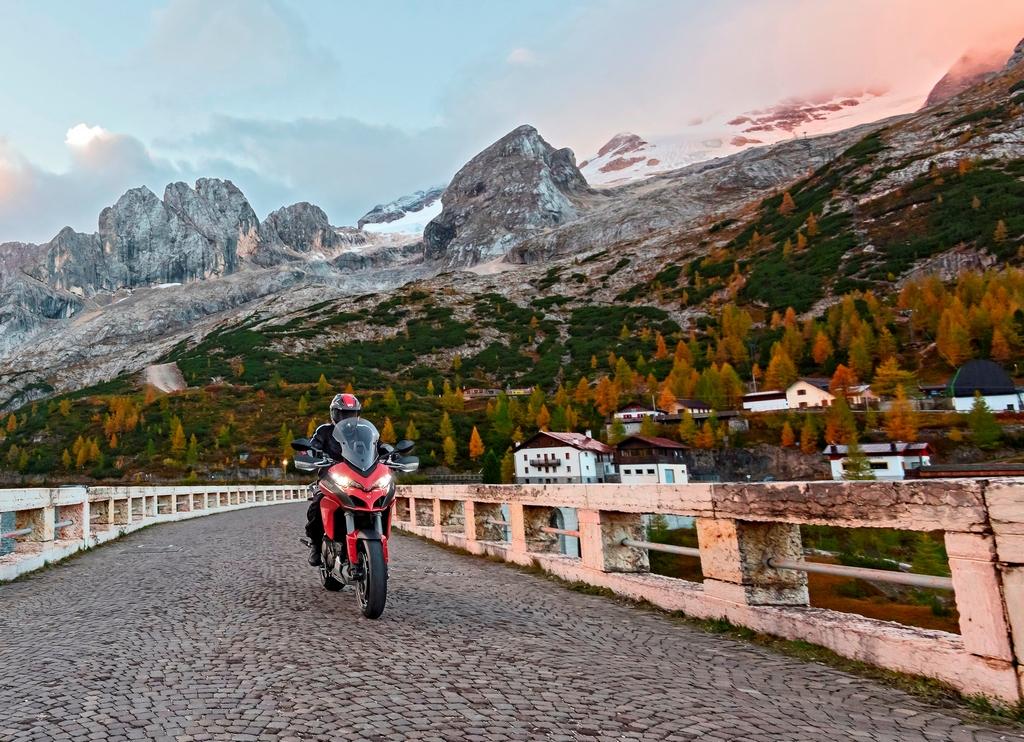 Ducati Multistrada 1200 S Winter Tour