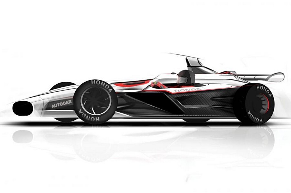 Project 2&4 Honda Progetto di Autocar